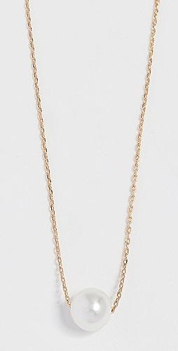 Theia Jewelry - 小巧施华洛世奇人造珍珠项链