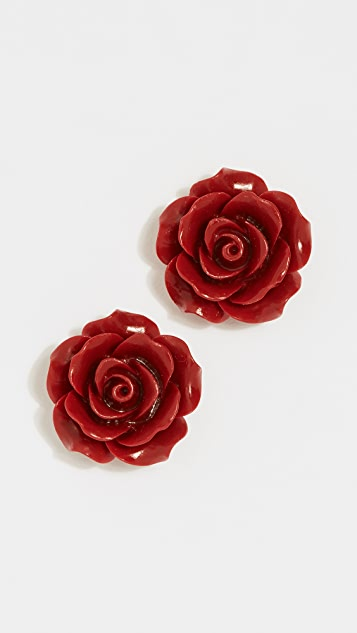 Theia Jewelry Camellia Stud Earrings