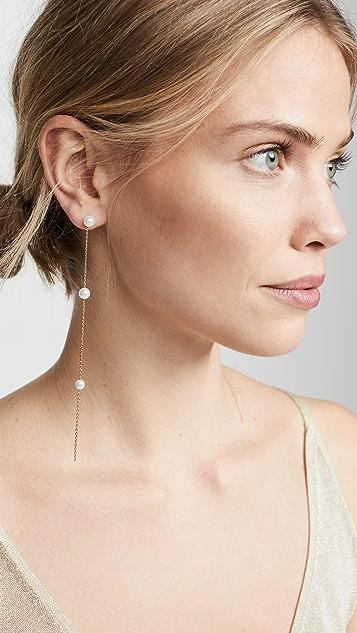 Theia Jewelry Emma Pearl Drizzle 耳坠