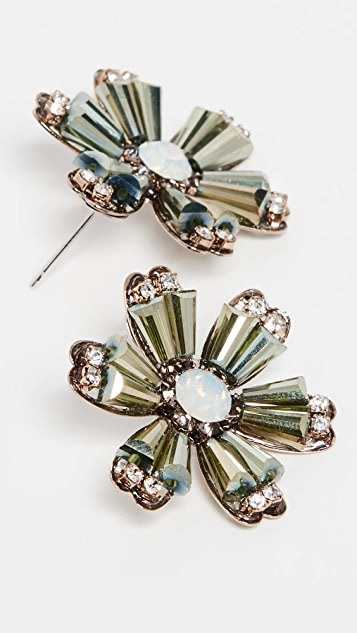 Theia Jewelry Daisy Stud Earrings