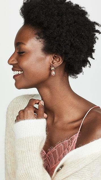 Theia Jewelry Rhea Stone Stud Earrings