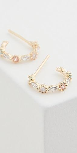 Theia Jewelry - Aubrey 小号圈式耳环