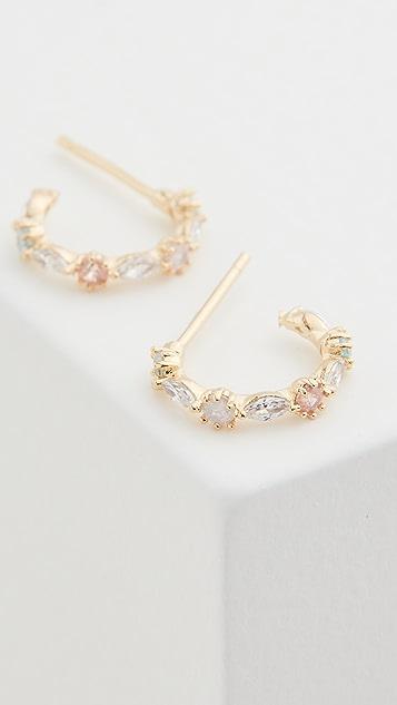 Theia Jewelry Aubrey Petite Hoop