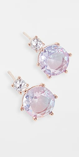Theia Jewelry - Aurora Round Cut Stud Earrings