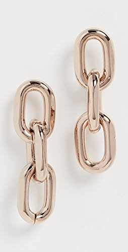 Theia Jewelry - Melia Large Rounded Paper Clip Trip Earrings