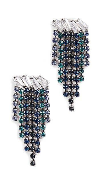 Theia Jewelry Nora High Quality Baguette Cut Earrings