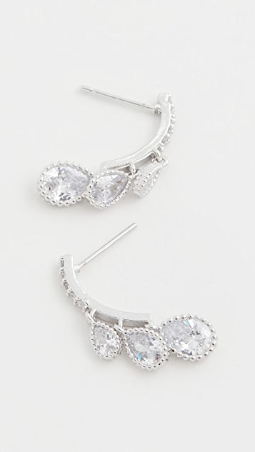 Theia Jewelry Cascading Dew Drop Earrings