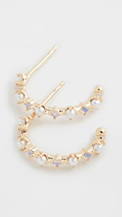 Theia Jewelry Aubrey 小号圈式耳环