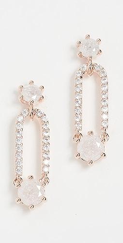Theia Jewelry - Sofia Douple Drop Stud Earrings