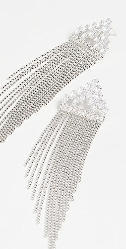 Theia Jewelry - Amata Art Deco Tassel Drop Earrings