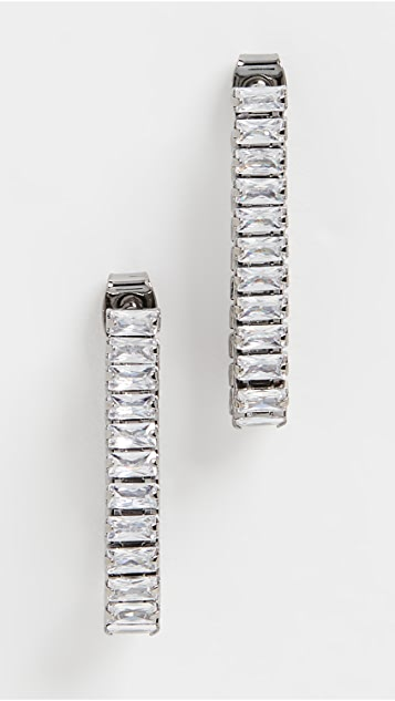 Theia Jewelry Poppy Soft Hoop Earrings