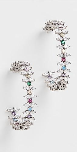 Theia Jewelry - Julia Large Hoop Earrings