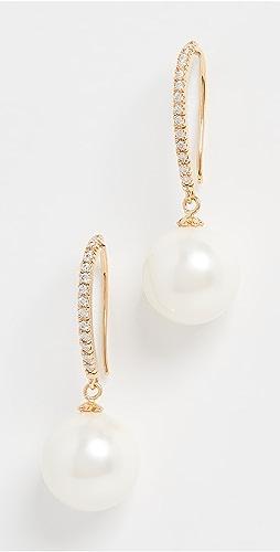 Theia Jewelry - Nora Imitation Pearl Drop Earrings