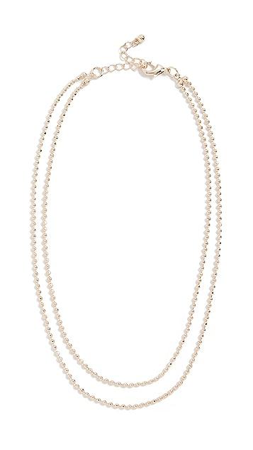 Theia Jewelry Nicola Short Double Necklace