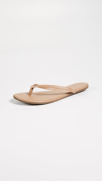 Foundations Flip Flops in Tan. - size 10 (also in 5,7,8,9) Tkees