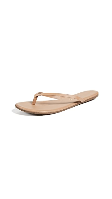 TKEES 基础色夹趾凉鞋