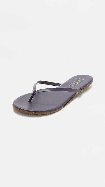 TKEES Liners Flip Flops - Twilight