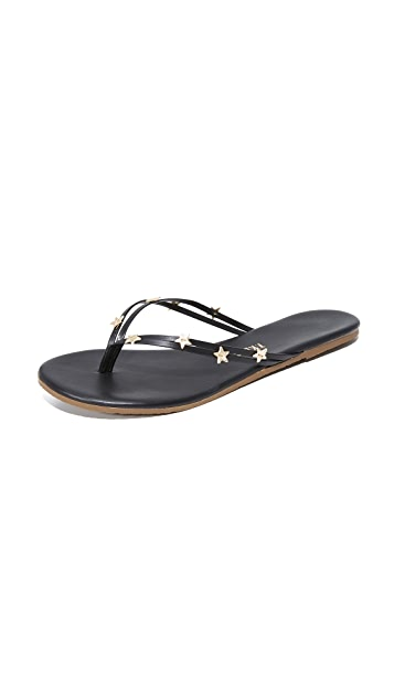 TKEES Lily Stars Flip Flops