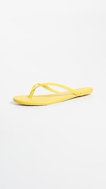 TKEES Solids Flip Flops - No. 4