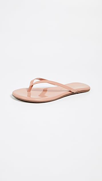 3218e896c86e TKEES Foundations Gloss Flip Flops ...