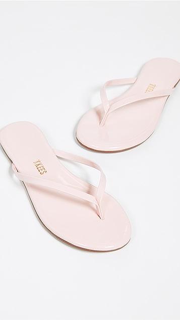 TKEES Gloss Flip Flops