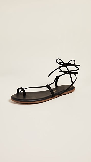 Jo Lace Up Sandals by Tkees