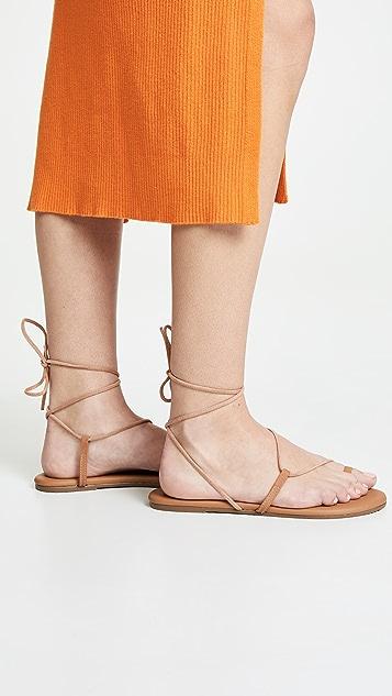 TKEES Jo 系带凉鞋