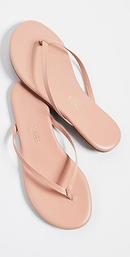 TKEES - Foundations 闪光色夹趾凉鞋