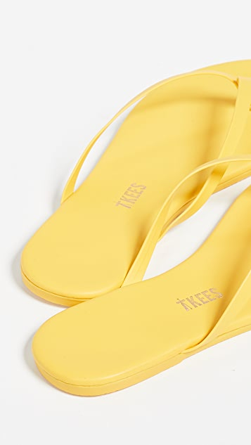 TKEES Solids 夹趾凉鞋