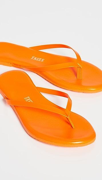 TKEES Lily Neon Flip Flops