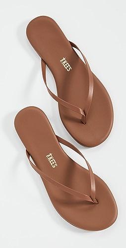 TKEES - Foundations 哑光夹趾凉鞋