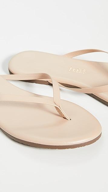TKEES Foundations 闪光色夹趾凉鞋