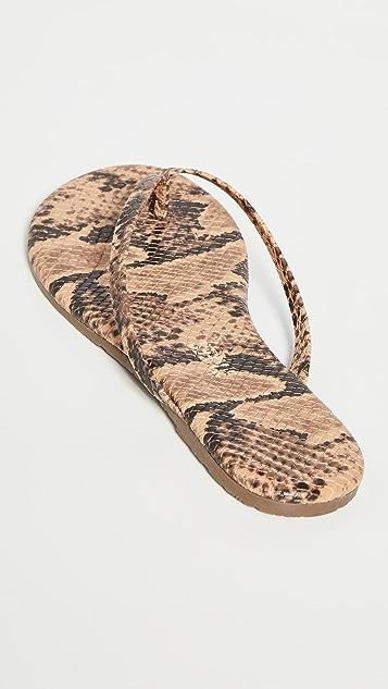 TKEES Studio Exotic Flip Flops