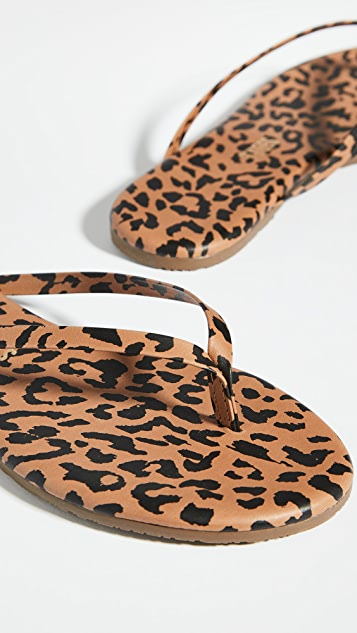 TKEES Studio Exotic Flip Flops