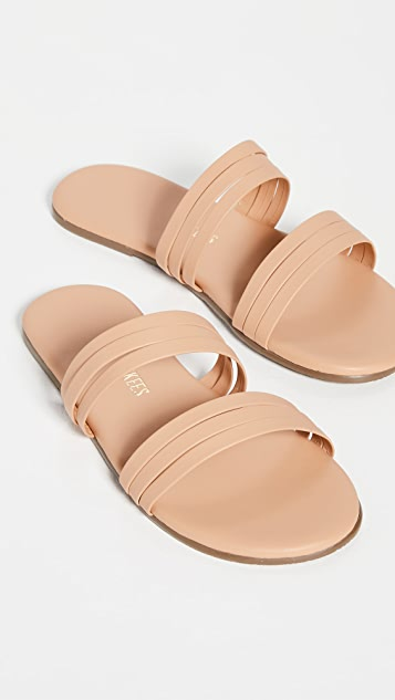 TKEES Allegra Double Band Sandals