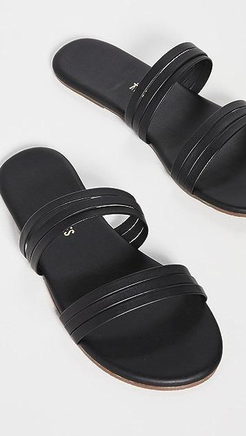TKEES Allegra 双带凉鞋