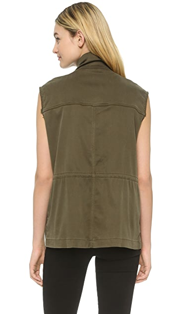 The Kooples Military Jacket Vest