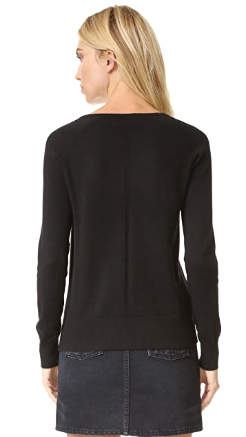 The Kooples Clip Detail Pullover