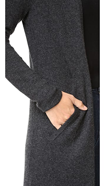 The Kooples Long Cashmere Cardigan