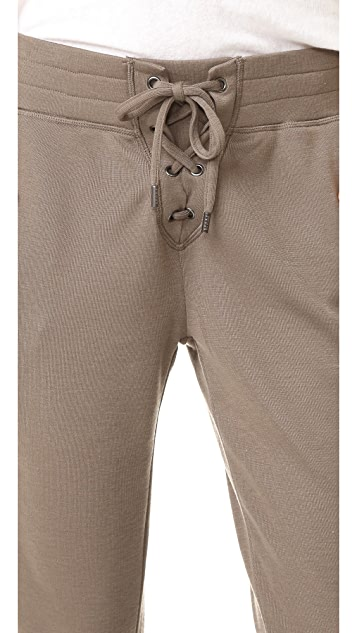 The Kooples Lace Up Joggers