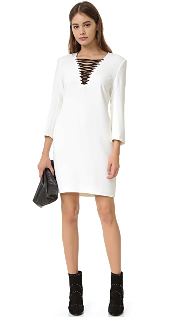 The Kooples Lace Up Dress