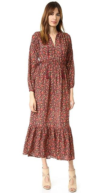 The Kooples Hippy Flower Print Silk Dress Shopbop