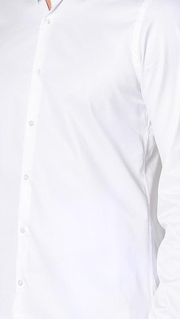 The Kooples Grosgrain Officer Collar Shirt