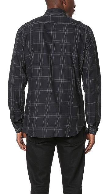 The Kooples Large Check Shirt