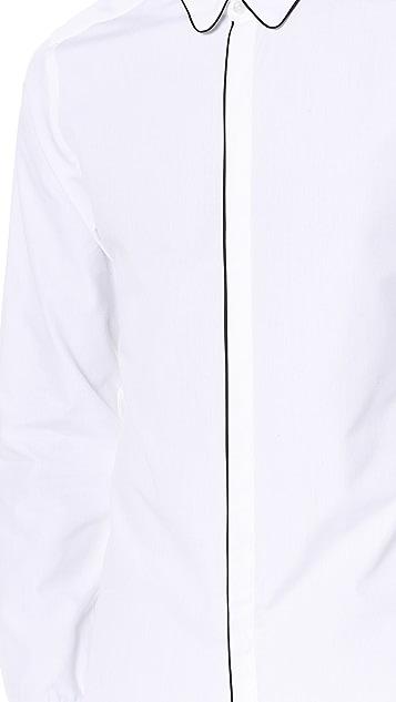 The Kooples Grosgrain Detail Shirt