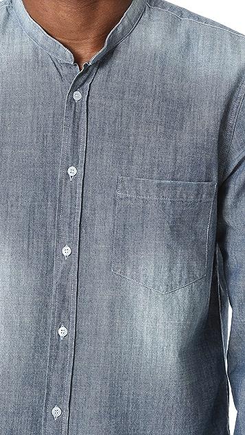 The Kooples Light Indigo Long Sleeve Shirt
