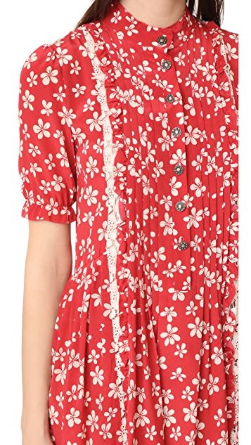 b9180637d The Kooples Ruffle Floral Dress | SHOPBOP