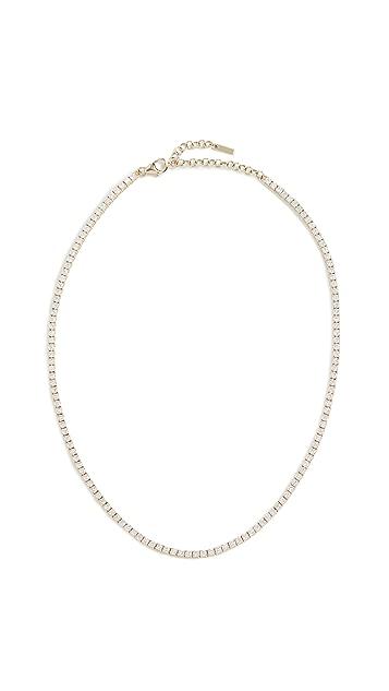 The Last Line 14k Diamond Perfect Collar Tennis Necklace