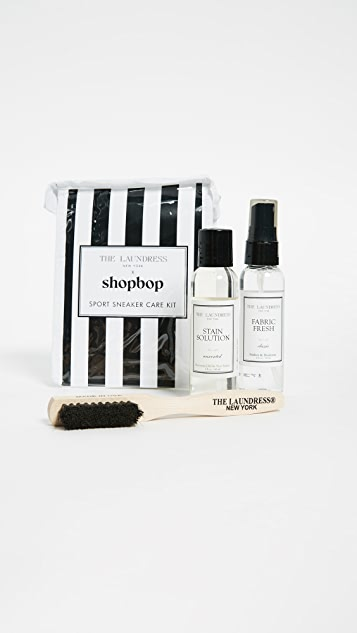 The Laundress Sport Sneaker Care Kit - Black/White