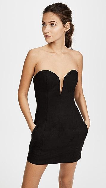 The Line Up Serena Mini Dress - Black